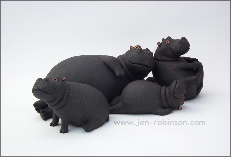 I'm a professional ceramic artist, and have been for a long time. My animals are all hand modelled. I also love the world of colours and shapes and enjoy taking photos. My website www.jen-robinson....