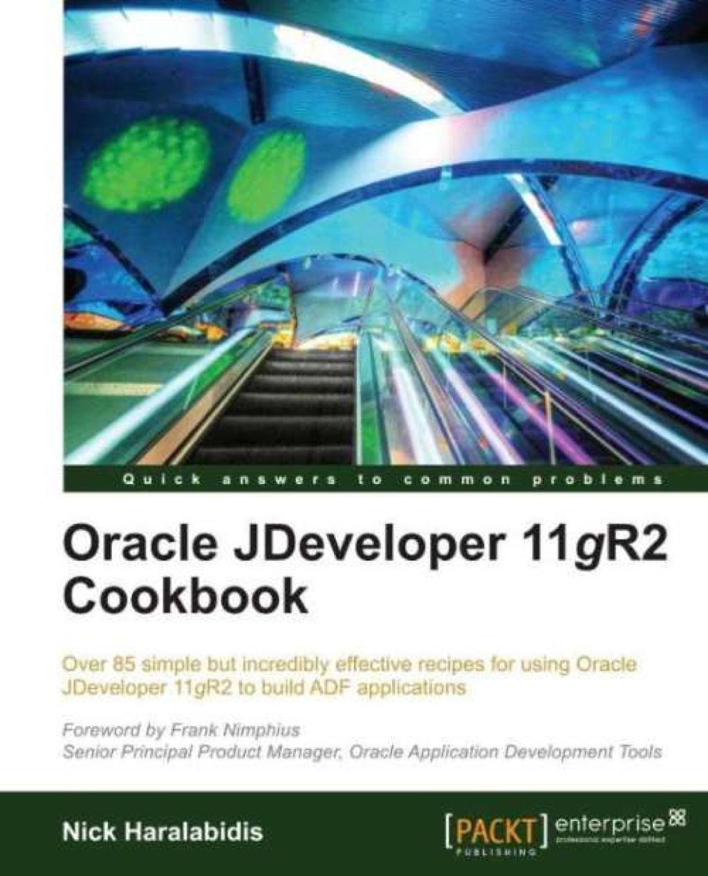 Oracle JDeveloper 11gR2 Cookbook (eBook) | Products
