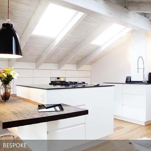 Kche im Dachgeschoss  Kche in 2019  Kche dachschrge