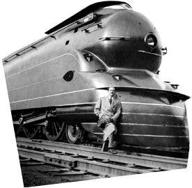 Locomotive Raymond Loewy Pour En Savoir Plus Sur L Architecture Et Le Design Acier Www Construiracier Fr Trains Vapeur Histoire De L Art Art Deco