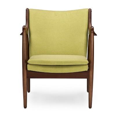 Shakespeare Mid Century Modern Retro Fabric Upholstered Leisure