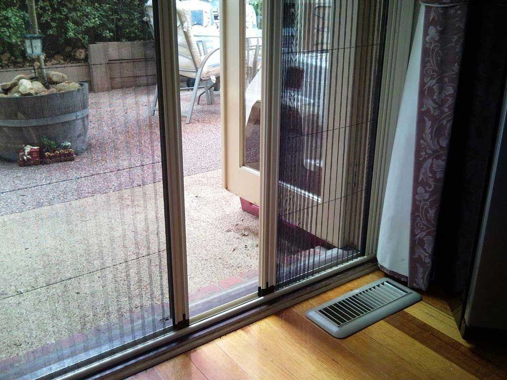 Slimline Aluminum frames fits on the surface of the existing window ...