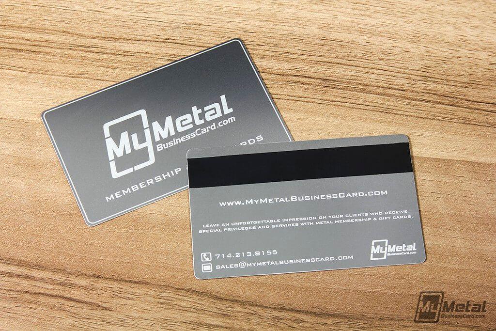 Eleganter Metall Visitenkarten Vistaprint Mit High