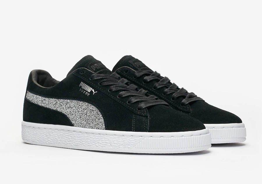 5ff45e5afeb Swarovski PUMA Suede 366324-01 Release Date - Sneaker Bar Detroit ...