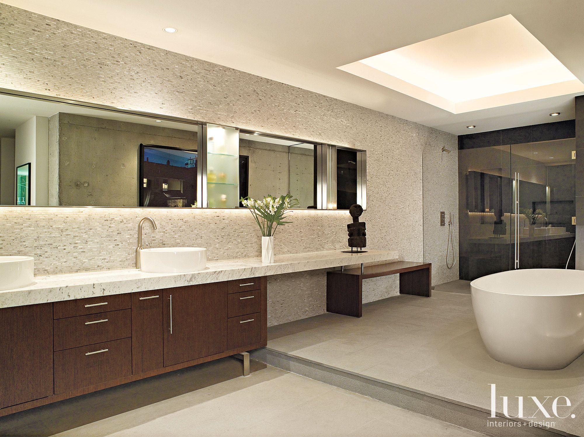 Bath Ideas Whoa Can You Say Sleek Interior Design Larissa Sand Photography Ken Hayden