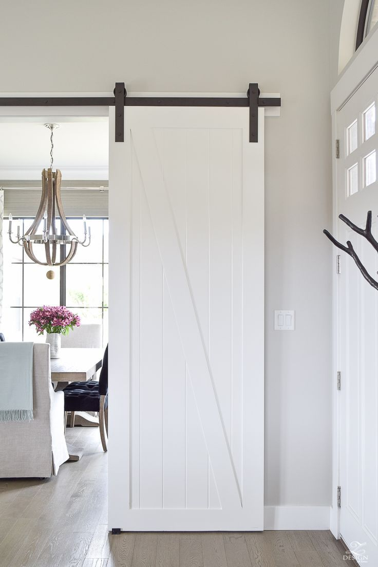 A Welcome Barn Door Addition to Our Home - ZDesign At Home & A Welcome Barn Door Addition to Our Home | Barn doors Artisan and Barn