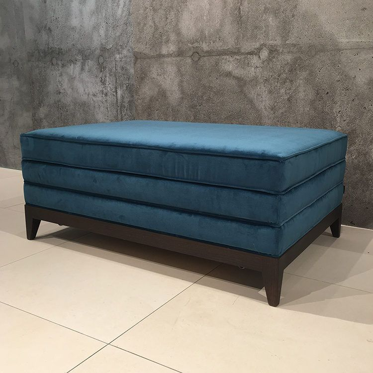 The Jack ottoman also functions as a coffee table and guest bed ...