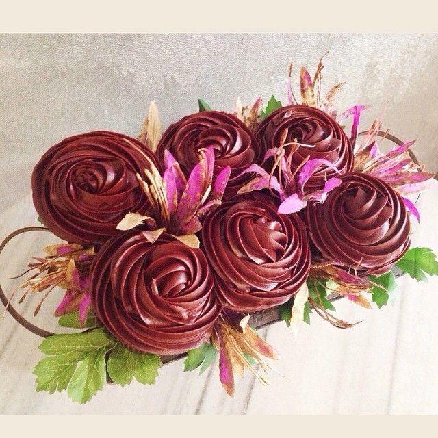 #chocolate  #cupcake