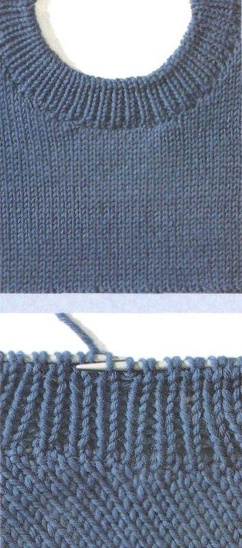 вязание спицами как вязать по диагонали обсуждение на
