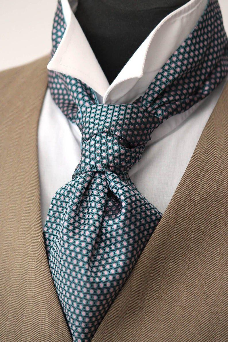 Cravate Lavallière Mens Tie tissé soie jour Cravat   Etsy   Mens cravats,  Ties mens fashion, Ties mens