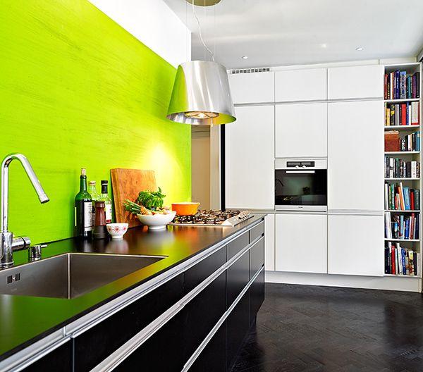 Inspiring Kitchen Interiors: 5 Impact Designs | Home | Pinterest | Küche  Schwarz Weiß, Küche Schwarz Und Modernes Design