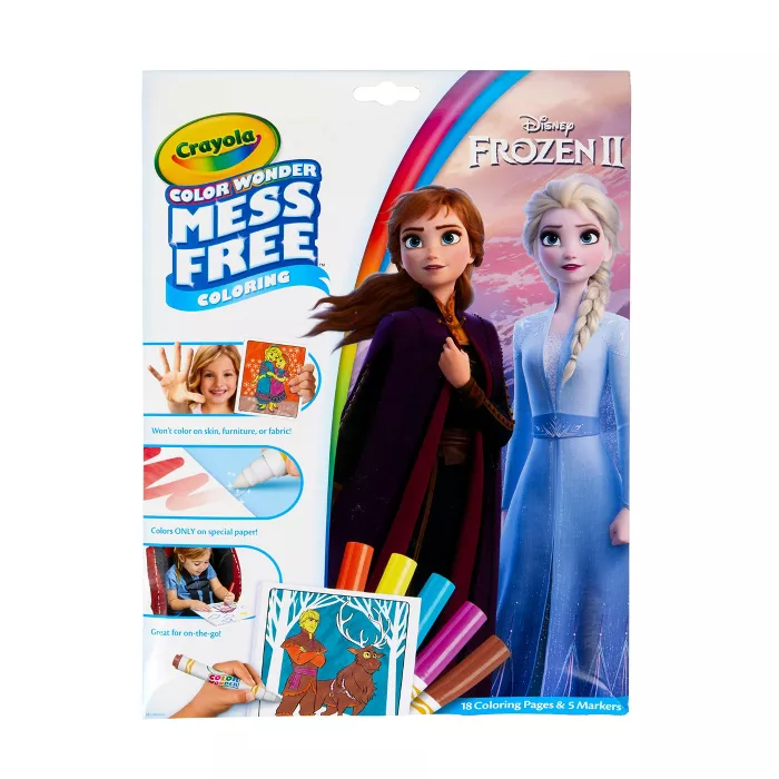Crayola Color Wonder Frozen 2 Coloring Pages Set Color Wonder Disney Coloring Pages Free Coloring Pages