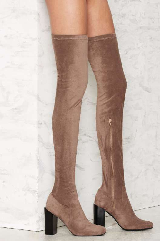 Jeffrey Campbell Leather Over-The-Knee Boots cheap shop clearance cheap online UrPhd4ca