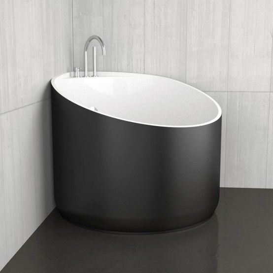 Mini Bathtubs And Mini Bathtub Shower Combos Go A Long Way To Mitigating  The Problem Of A Small Bathrooms. If Your Bathroom Fixtures Are  Spectacular, ...