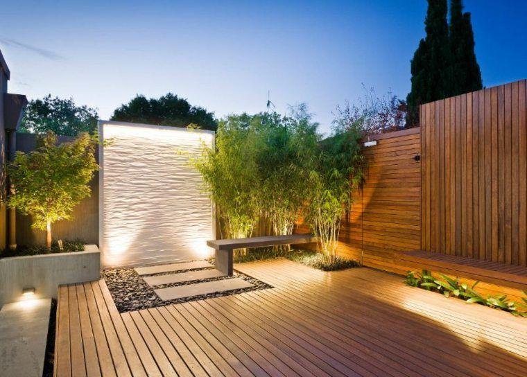 quel clairage pour terrasse en bois extrieur moderne