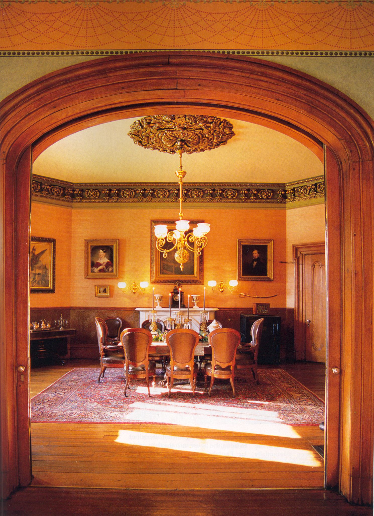 The Dining Room Ashland Henry Clay Estate Lexington Kentucky