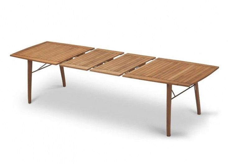 Mamagreen Baia Outdoor, Extension, Patio Teak Dining Table -  HomeInfatuation.com | furniture_outdoor furniture | Pinterest | Teak dining  table, ... - Mamagreen Baia Outdoor, Extension, Patio Teak Dining Table