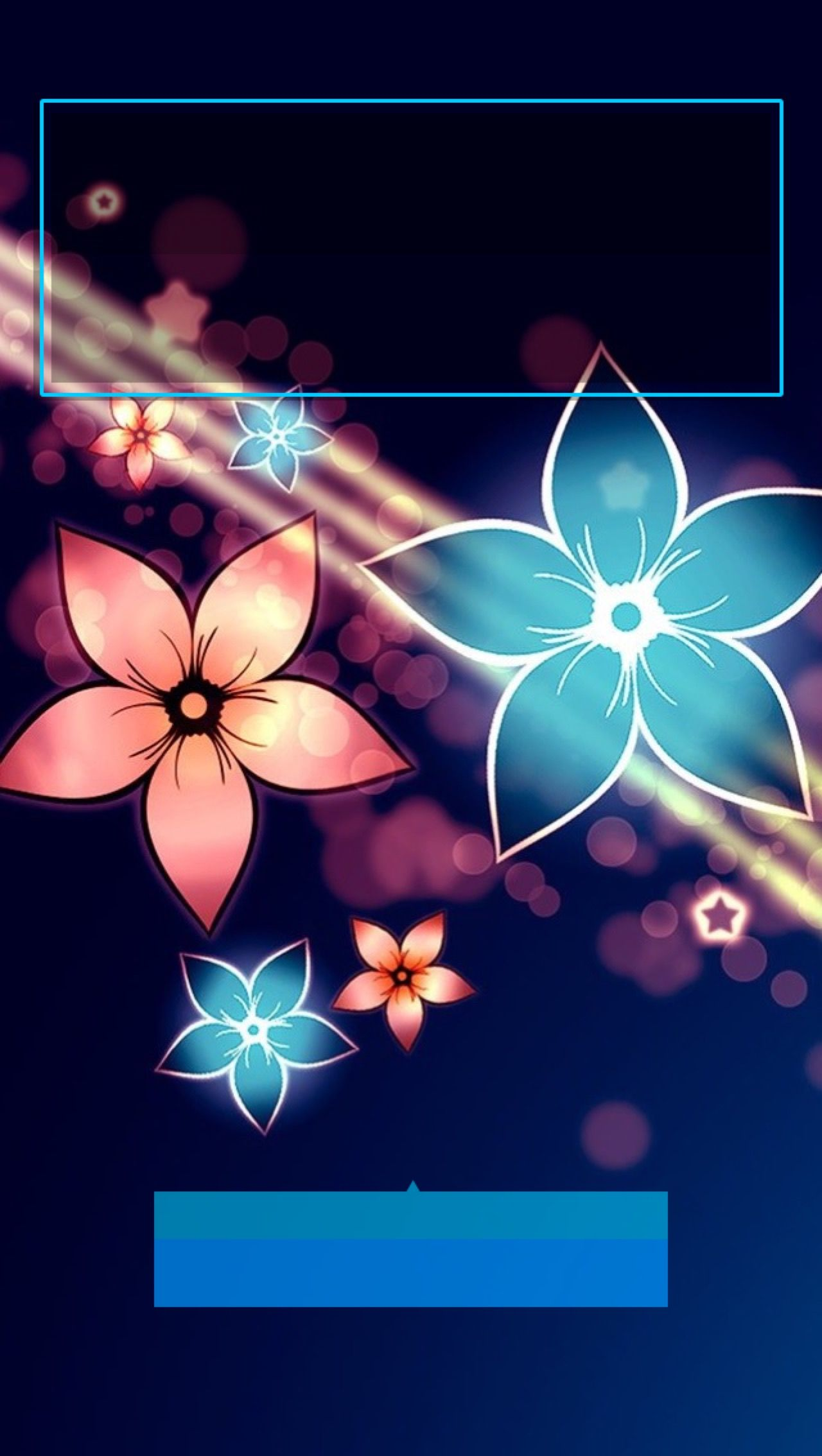 Tap And Get The Free App Lockscreens Lights Flowers Abstract