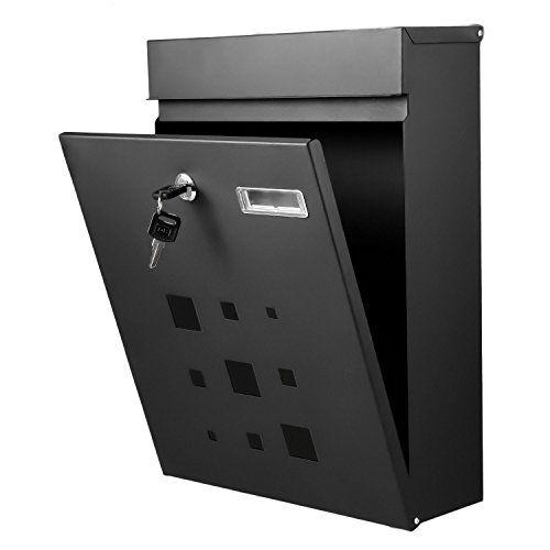 wall mount mailbox envelope. Wall Mount Mailbox Envelope. Homdox Galvanized Steel Locking Drop Box  Mounted Letterbox Post Envelope