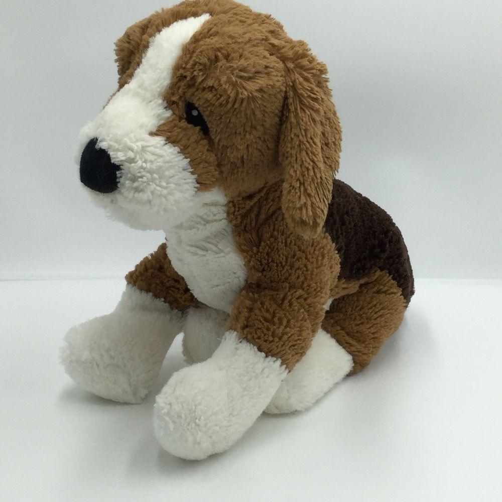 Ikea Beagle Gosig Valp Puppy Dog 13 Soft Plush Stitched Eyes