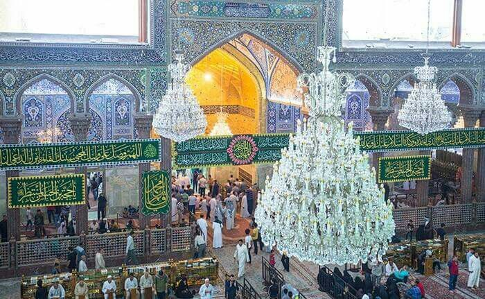 Karbala on 15th of shaban the day of the Holy birth of the final Imam a.f