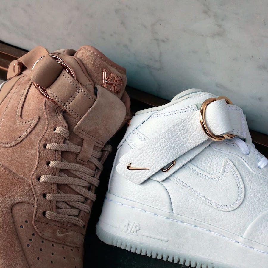 6bb841b0242059 Victor Cruz x Nike Air Force 1 Mid Release Date