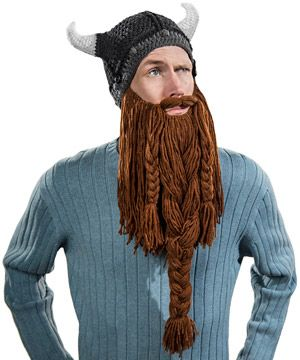 9dfe409e22f Barbarian Pillager Beard Head Beanie