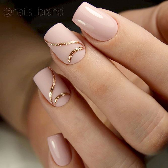 But, unlike all the other sources we made sure that with our designs your  nails will not only look classy ... - 30 Outstanding Classy Nails Ideas For Your Ravishing Look Trendy