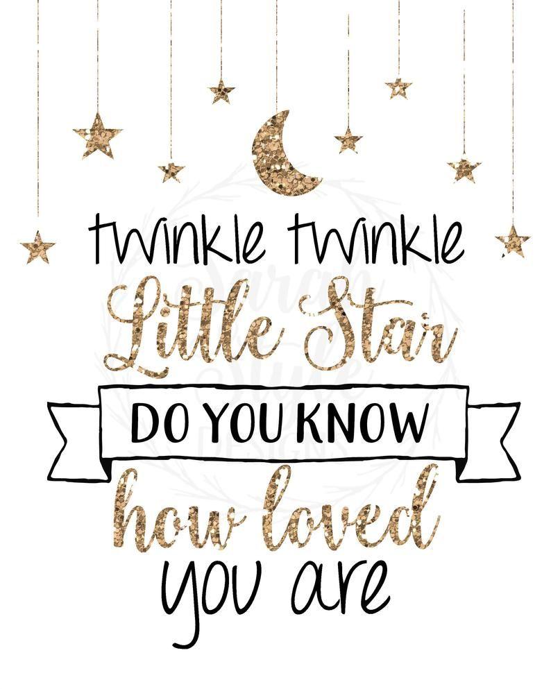 twinkle twinkle nursery decor on printable wall art twinkle twinkle little star nursery decor etsy in 2021 twinkle twinkle baby shower stars nursery decor twinkle twinkle little star pinterest