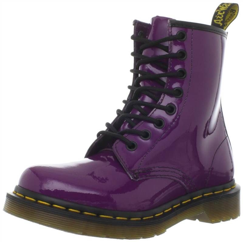 Pin By Colleen Haigh On Purple People Eater Boots Doc Martens Women Dr Martens Boots