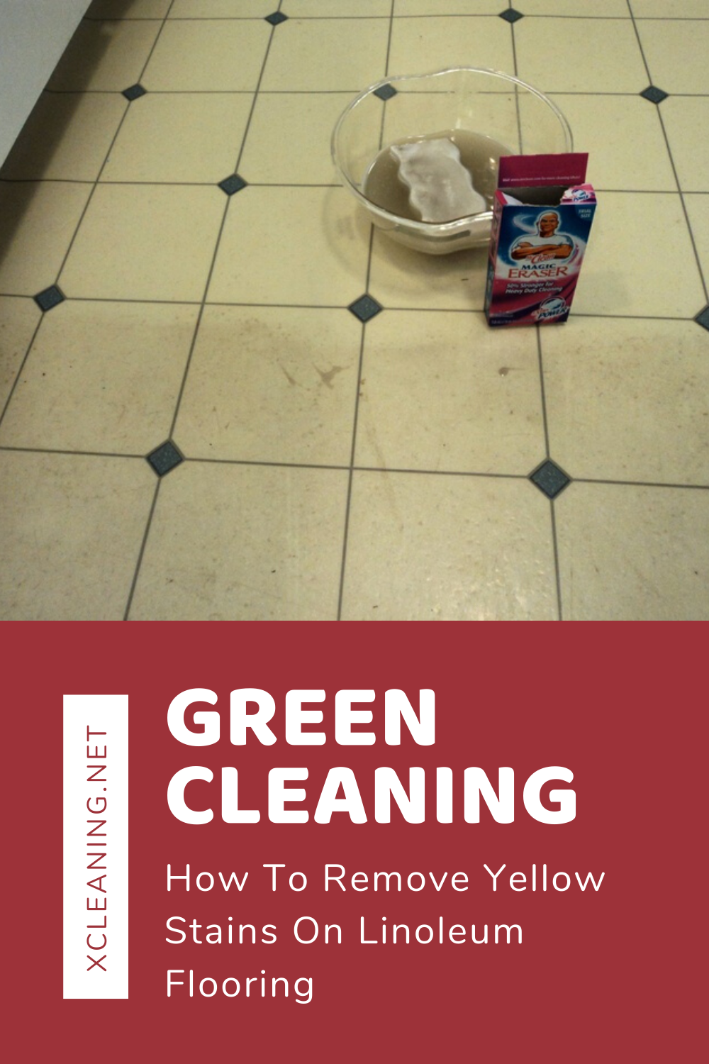 Green Cleaning: How To Remove Yellow Stains On Linoleum Flooring