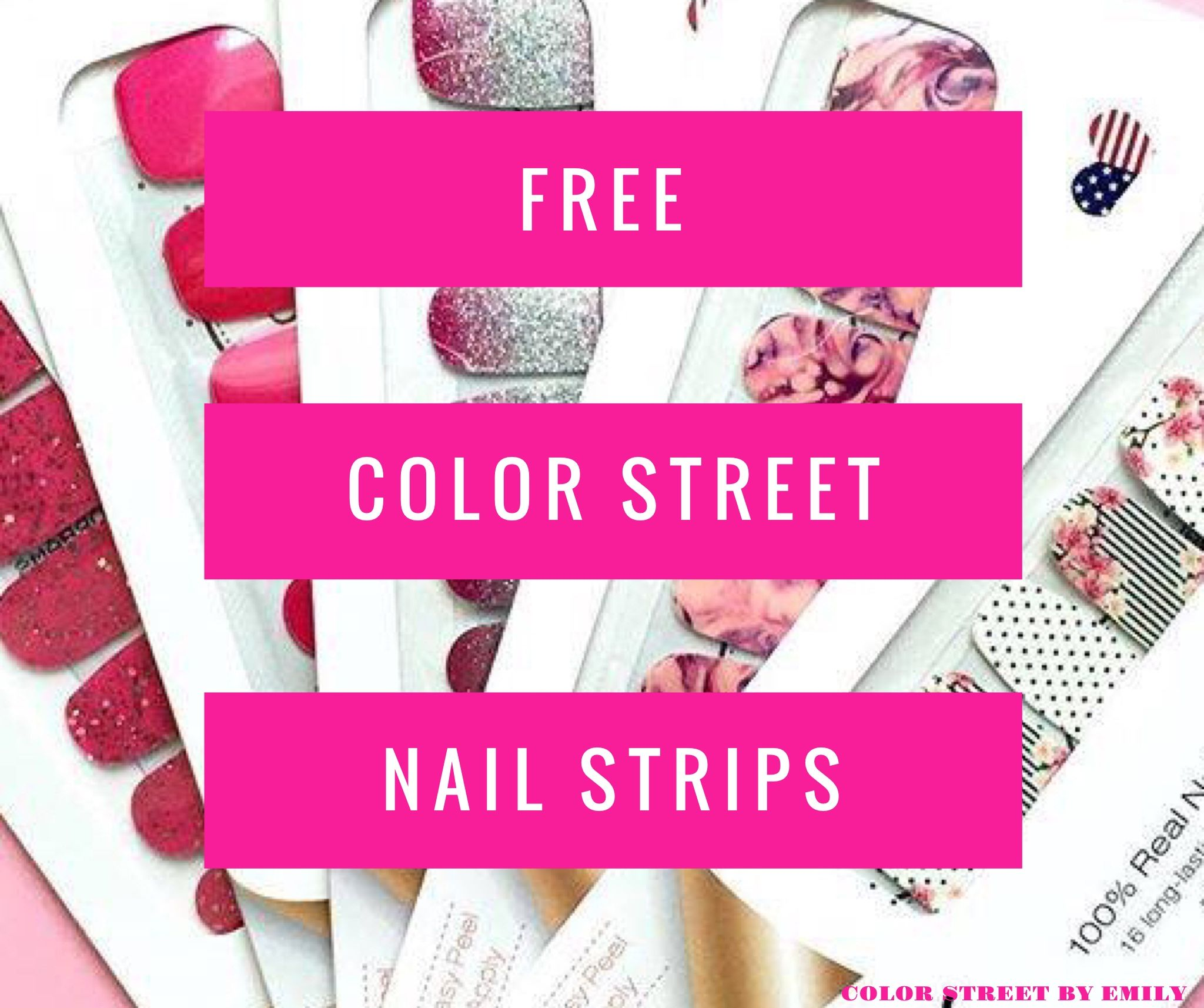 Looking for FREE Color Street nail strips? Host a party!! We are very generous to our hostesses. Message me for more information!!