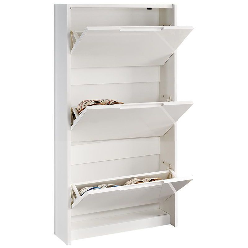 Meuble A Chaussures Design 3 Tiroirs Inco Miliboo Meubleachaussuresentree Furniture Storage Shelves