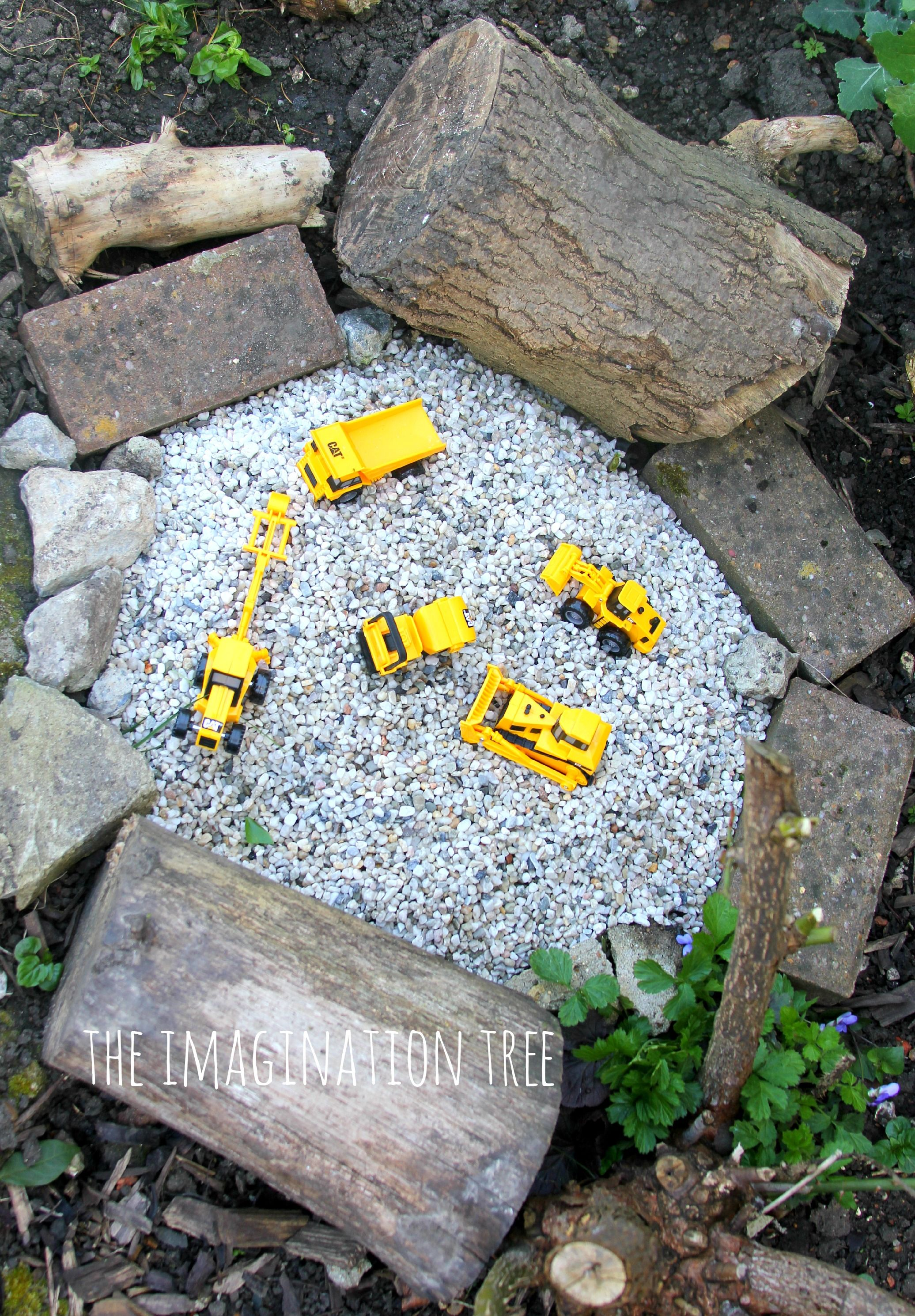 Construction Site Gravel Pit | Play areas, Imaginative play and Play ...