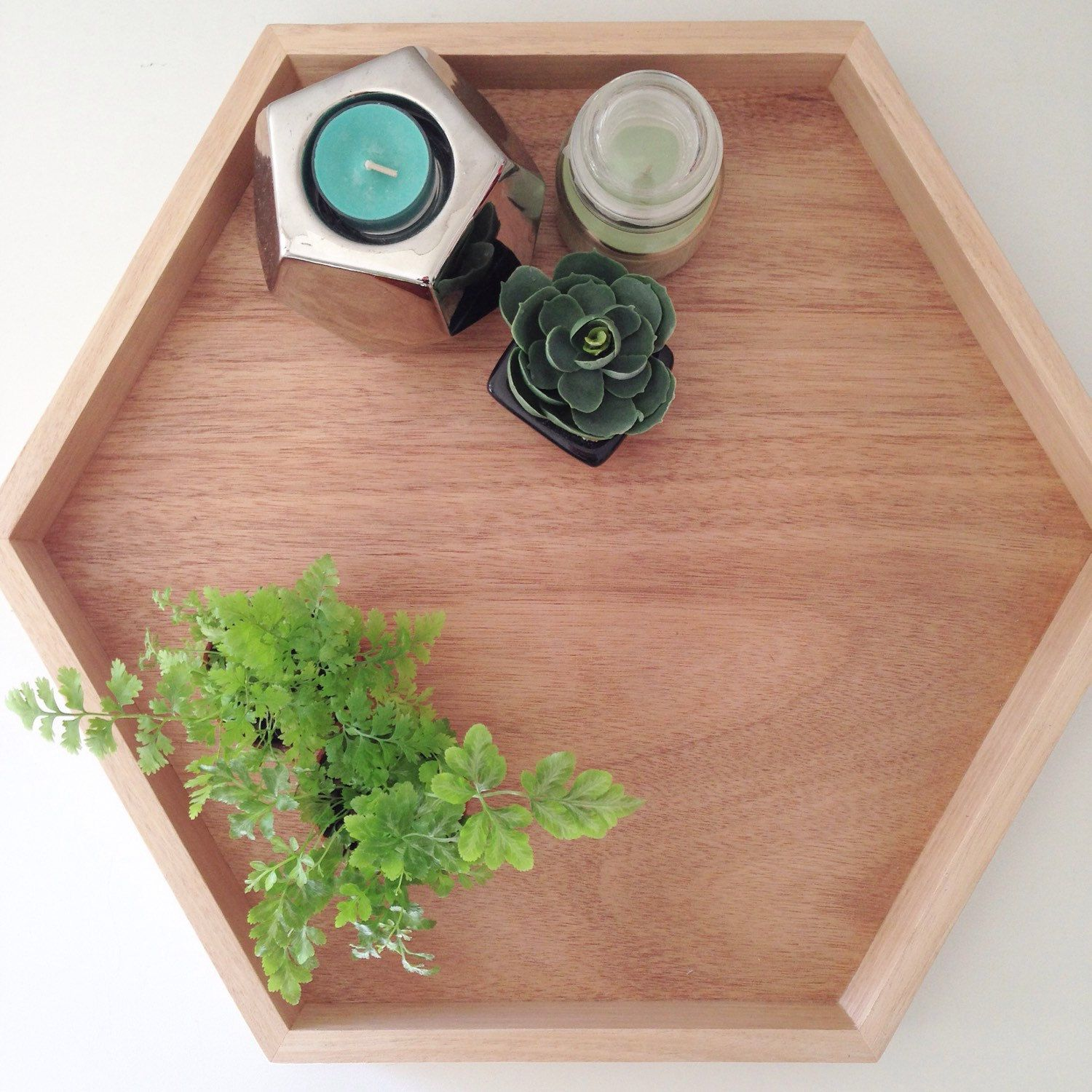 Timber Hex tray от MoxKids на Etsy