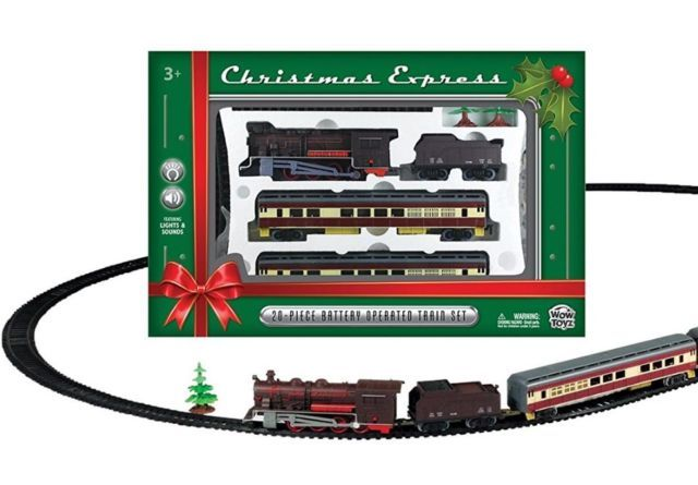 Train Set For Christmas Tree Classic Express 20 Pcs Realistic