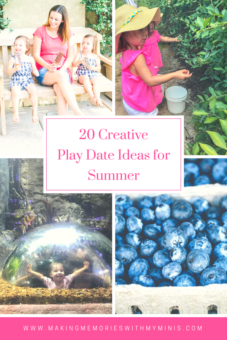 20 Creative & Fun Summer Play Date Ideas!!! Summer