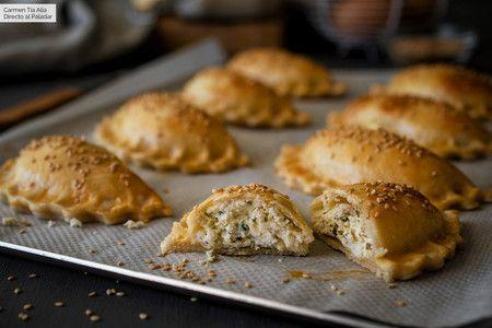 Vídeo receta de borekas de queso y mezcla de hierbas, las empanadillas de Oriente Medio más deliciosas
