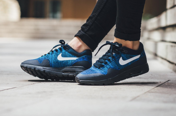 d803d54658 The Nike Air Max 1 Ultra Flyknit Racer Blue Is Now Available •  KicksOnFire.com