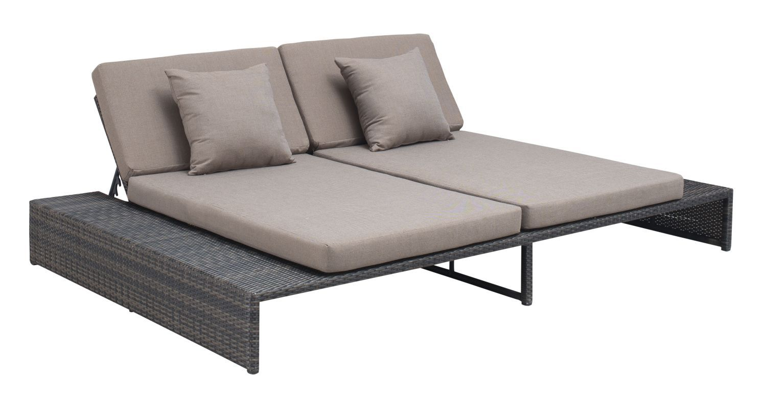 Cool Zuo Modern Delray Reclining Loveseat Delray Outdoor Ibusinesslaw Wood Chair Design Ideas Ibusinesslaworg