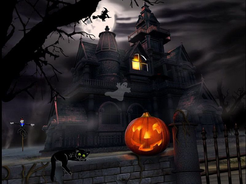 image detail for halloween screensaver halloween adventure fullscreensaverscom
