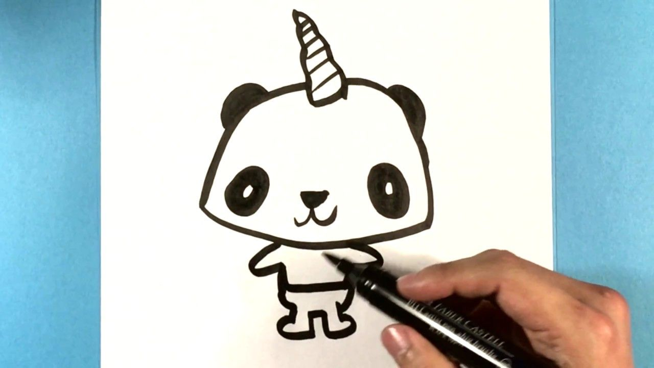 How To Draw A Pandacorn Cute Animals To Draw Cuteanimalstodraw Howtodrawapandacorn Drawsocuteani Unicorn Coloring Pages Cute Animal Drawings Cute Drawings