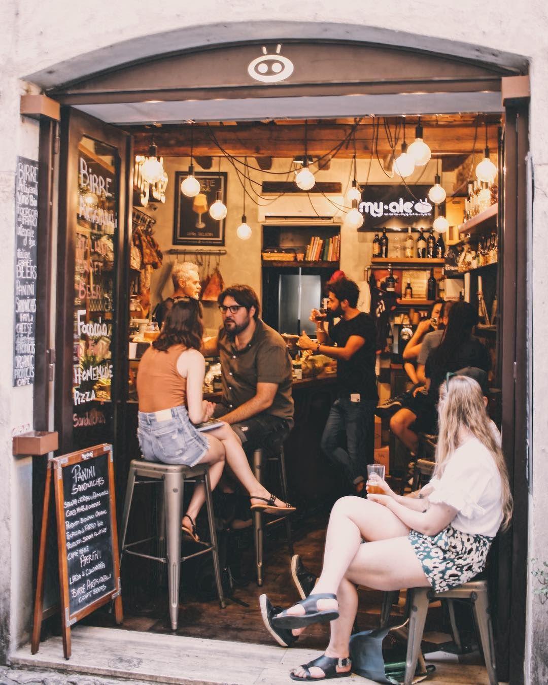 Beerbar Draftbeer Rome Italy Brunch Cafe Beer Bar Delicatessen