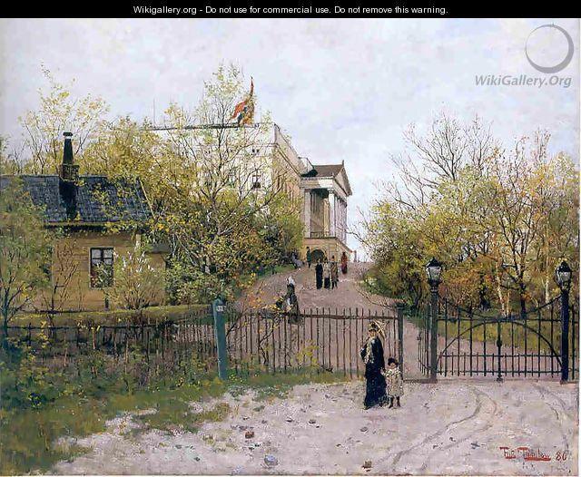 spring - Fritz Thaulow
