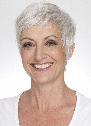 Pixie Haircut Grey Hair