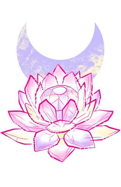 Anime Art Crystal Cute Draw Kawaii Pale Pastel Pink Print