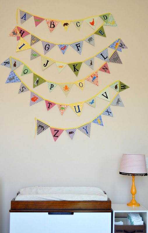 Yay The Bunting Is Installed In Janis S Nursery