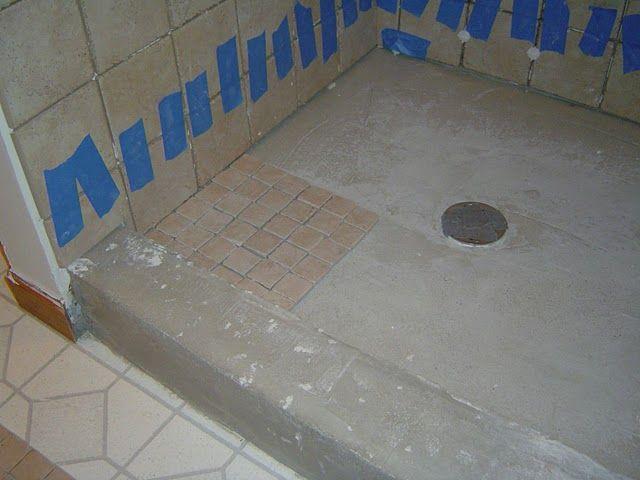 Tiling A Shower Curb