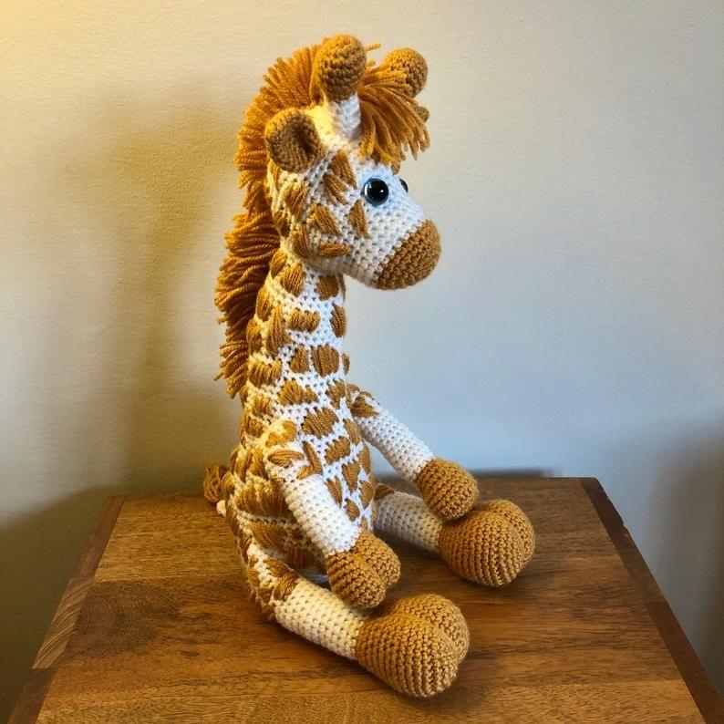 Amigurumi Giraffe Pattern, Crochet Giraffe Pattern, Amigurumi Pattern, Crochet Pattern