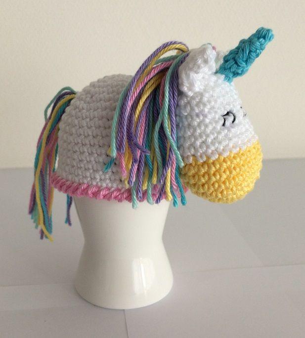 Eierwarmer Eenhoorn Made By Marygold Haken Pinterest Haken